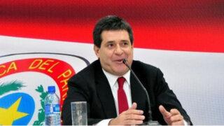 Cartes alista defensa tras ser pedido por justicia de Brasil