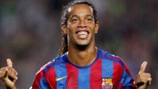 Ronaldinho: En Barcelona tenía sexo antes de cada encuentro para estar feliz