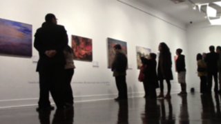 VIDEO: José Francisco Navarro, SJ, presenta exposición de pintura 'Apocalipsis 21'