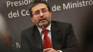 Premier Jiménez: No se detendrá ninguna obra que esté vinculada al canon minero