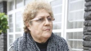 Madre de Ciro Castillo fue internada de emergencia por cuarta vez