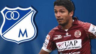 Reimond Manco fue ofrecido al Millonarios de Colombia