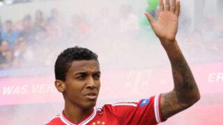 Luiz Gustavo deja el Bayern Múnich y ficha por el Wolsfburgo