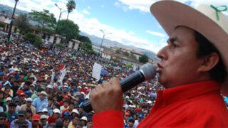 Gregorio Santos afirma que no hay nada que dialogar con Yanacocha