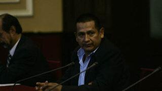 Gana Perú retira a Walter Acha de la Comisión de Defensa del Congreso