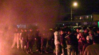 Ica: Taxistas bloquearon Panamericana Sur en protesta contra extorsiones