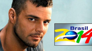 Ricky Martin confirmó que cantará en el Mundial Brasil 2014