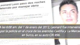 Sentencian a dos años de prisión a cantante Leonard León por manejar ebrio