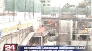 San Isidro: vecinos denuncian licencias irregulares en construcción de edificios