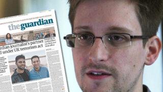 Gobierno británico obligó a diario The Guardian a destruir secretos de Snowden