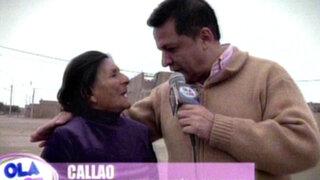 Pareja de ancianos en extrema pobreza reciben importante ayuda en el Callao