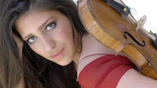 Violinista española Leticia Muñoz tocará junto a la Sinfónica Nacional