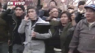 SJL: vecinos denuncian amedrentamiento por parte de traficantes de terrenos