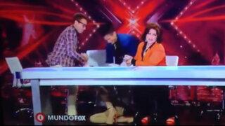 México: Belinda pasó un bochornoso momento durante programa 'El Factor X'