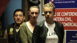 Corte Superior del Callao dicta prisión preventiva contra burriers británicas