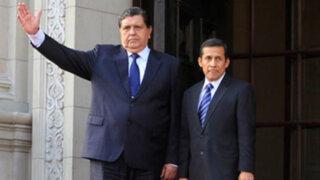 Alan García indicó estar dispuesto a iniciar diálogo con el Gobierno