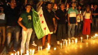 Gobierno peruano expresa su preocupación por la situación en Siria