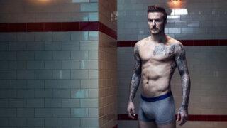 David Beckham posa en calzoncillos para lanzar nueva colección de H&M