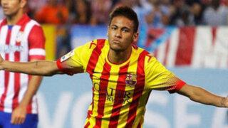 VIDEO: Neymar celebra su primer gol en partido oficial con el Barcelona