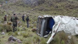La Libertad: volcadura de camioneta deja cinco muertos en Pataz