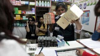 Incautan medicamentos 'bambas' en boticas cercanas a Hospital de la Solidaridad