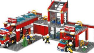 Firma de juegos lanzó campaña 'Armando con Lego ayudamos a los bomberos'