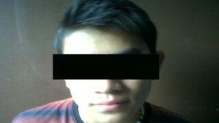 Trujillo: capturan a otro delincuente de 14 años acusado de varios crímenes