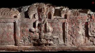 Guatemala: hallazgo de friso desmitifica vocación pacifista de los mayas