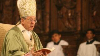 Juan Luis Cipriani: He perdonado los agravios en mi contra