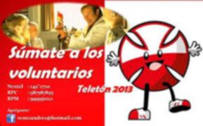 Este 4 y 5 de octubre únete a la Teletón 2013 por Panamericana Televisión