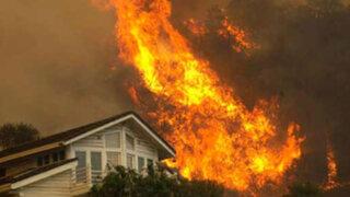 EEUU: incendio forestal arrasa más de 50 mil hectáreas en California