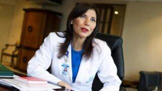Virginia Baffigo garantizó atenciones en Essalud tras suspensión de huelga