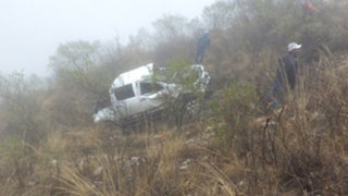La Libertad: despiste de camioneta dejó cinco profesores muertos