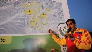 """Maduro gasta US$45 millones en """"faraónico"""" parque para Hugo Chávez"""