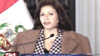 "Lourdes Flores afirma que la cárcel no está para hacer ""proselitismo político"""