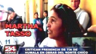 Investigarán a tía de Humala por ofrecer puestos de trabajo a nacionalistas
