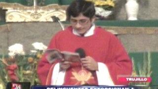 Trujillo: extorsionadores piden 'cupos' para no volar parroquia con granadas