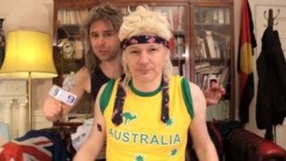 Assange realizó videoclip para promocionar su candidatura al Senado de Australia