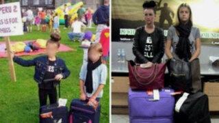 Irlanda: padres disfrazaron a sus niñas de las burriers detenidas en Perú