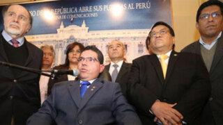 Solidaridad Nacional reafirmó disposición al diálogo con el Gobierno