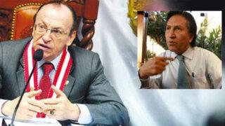 Fiscal Peláez solicitará levantar secreto bancario de Toledo en Costa Rica