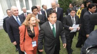 Congreso acordó levantar secreto bancario de Alejandro Toledo y  Eliane Karp