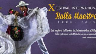"""Cientos de personas asistieron al festival """"Baila Maestro 2013"""" en el Callao"""