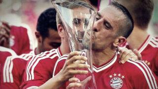 Ribéry se convirtió en el mejor jugador de Europa de la temporada 2012-2013