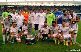Real Madrid vapuleó 4-0 al Deportivo La Coruña