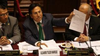Alejandro Toledo explicará hoy a Perú Posible datos revelados por la UIF