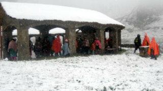 Cusco: decretan estado de emergencia y suspenden clases por fuertes nevadas