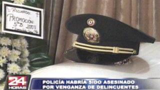Joven suboficial habría sido asesinado por venganza de delincuentes