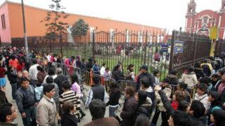 Fieles denuncian robos al paso en inmediaciones a la Iglesia Santa Rosa