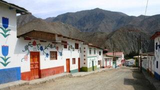 """En Ruta: Conozca """"Antioquía"""", el colorido pueblo pintado de Huarochirí"""
